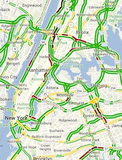 Nyc Live Traffic Map.Data News Dashboards Wnyc